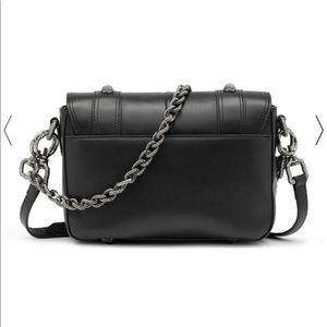 Aje Bags - Aje Black Leather Crossbody Hutton Bag
